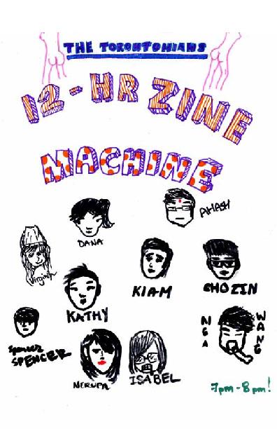 12 HR Zine Machine - Torontonians
