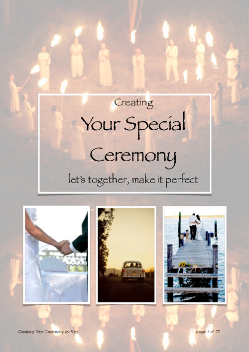 Creating Your Ceremony