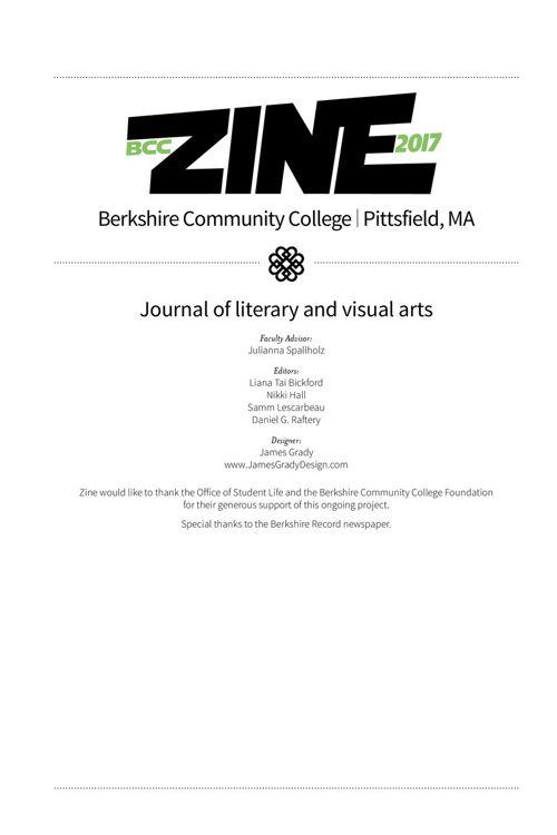BCC Zine 2017