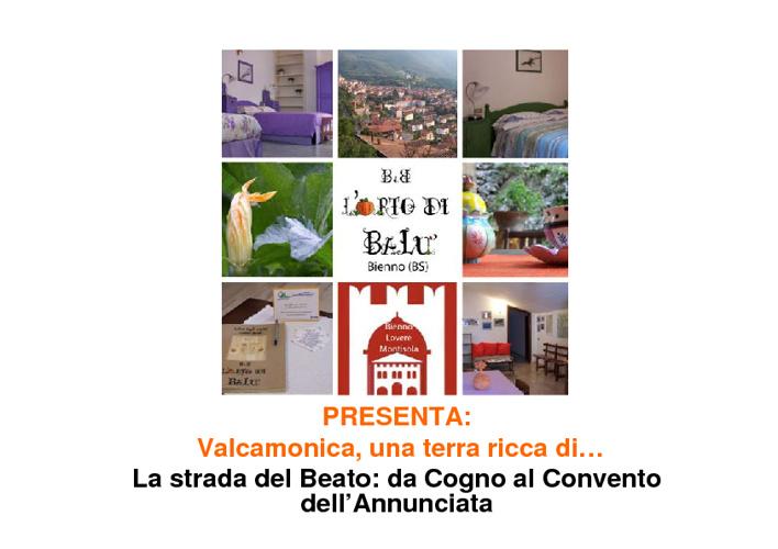 Valle Camonica, una terra ricca di... La strada del Beato