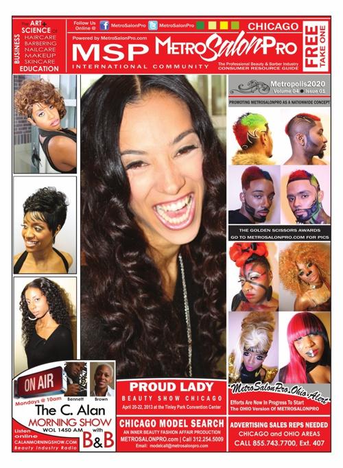 MetroSalonPro CHICAGO NewsMagazine 01 2013 Promo Brochure