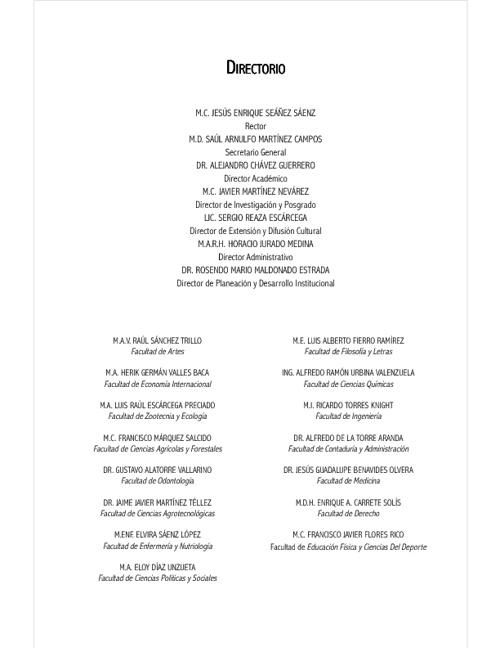 Universidad Autónoma de Chihuahua - 2 Informe de Actividades