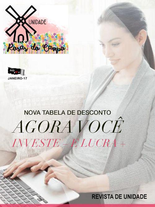 Revista da Unidade Rosas do Campo -Janeiro- 16