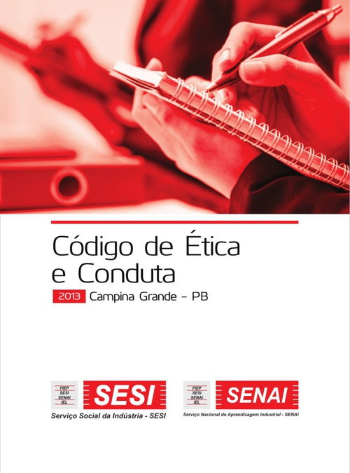 Código de Ética e Conduta SESI e SENAI PB