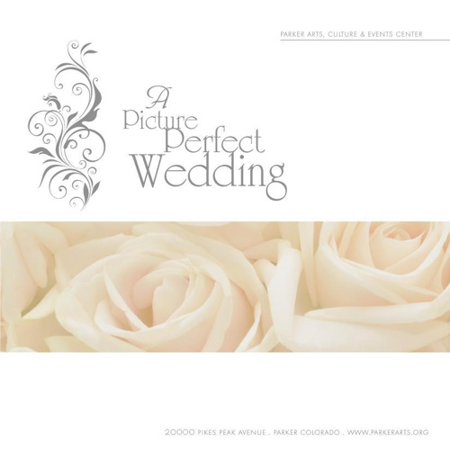 Parker Arts, Culture and Events Center wedding brochure
