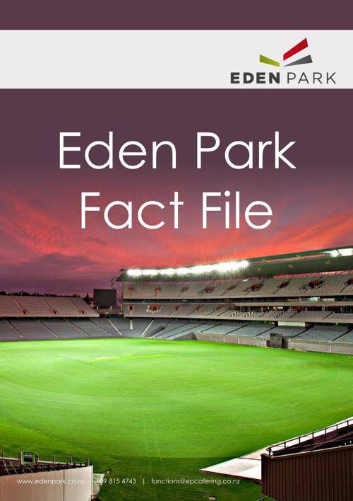 Eden Park Venue Function Spaces