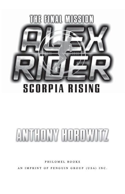 Alex Rider: Scorpia Rising