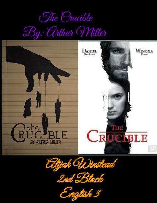 The Crucible Flip Book - Alijah Winstead