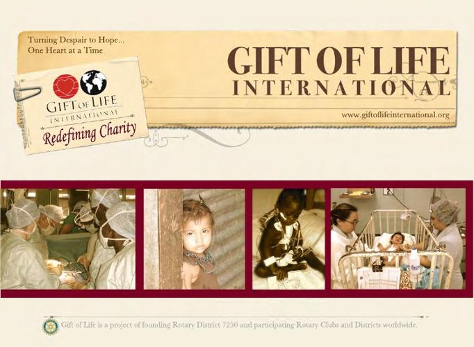 Gift of Life International Informational Brochure
