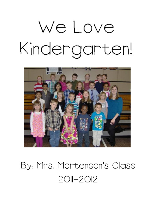 We Love Kindergarten!