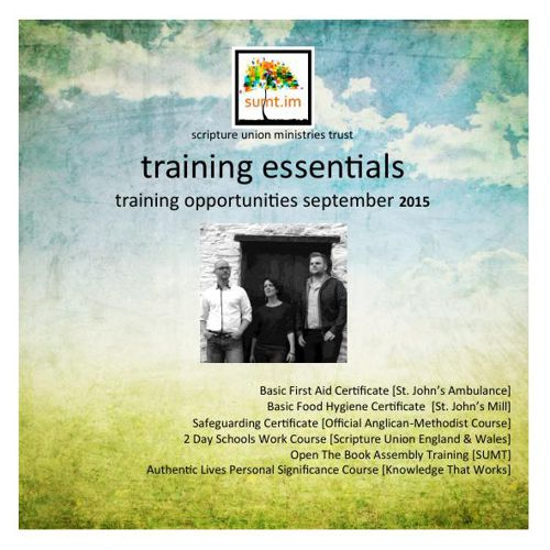 Essential training 2015 booklet