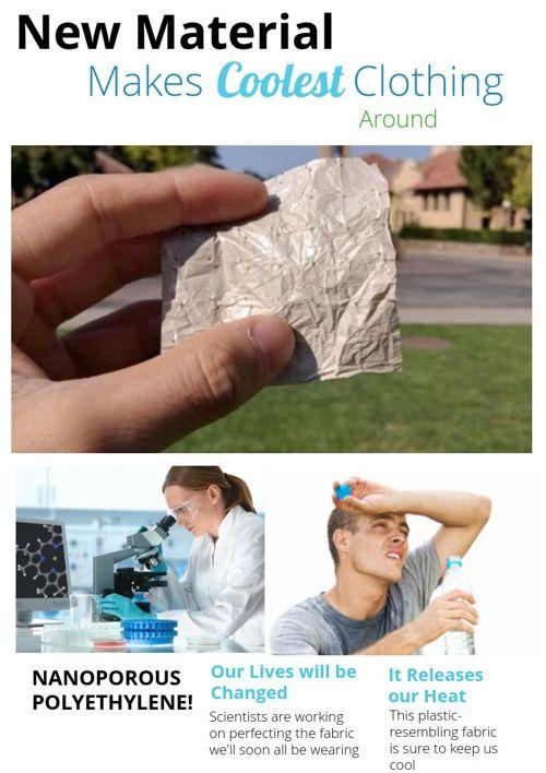Nanoporous Polyethylene