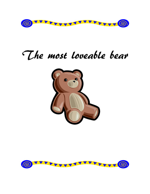 The Most Loveable Bear