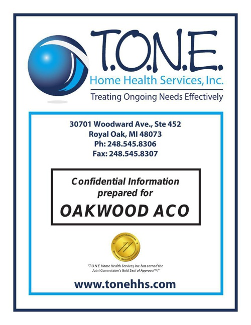 TONE Home Health Services - A brief overview