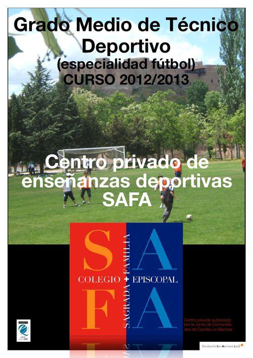 Grado Medio Técnico Deportivo - Colegio SAFA Sigüenza