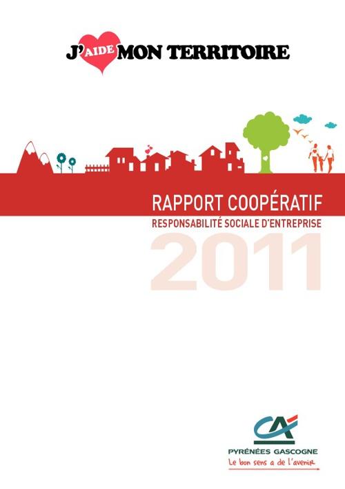 Rapport RSE Crédit Agricole Pyrénées Gascogne 2011 -Avril 2012 -