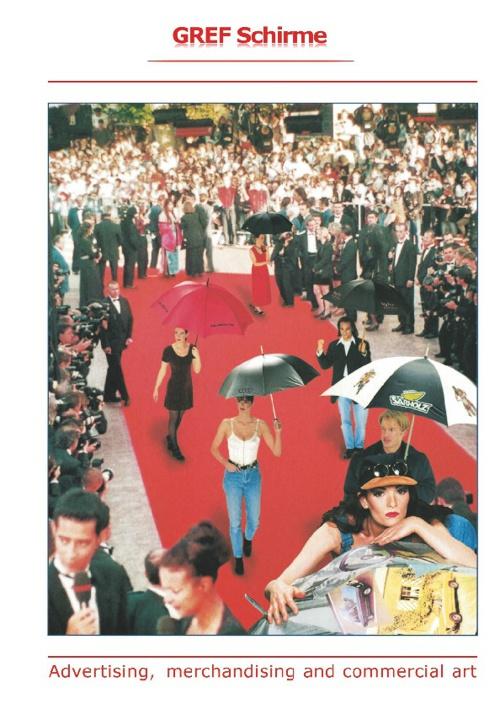 GREF Schirme · Advertising, merchandising and commercial art