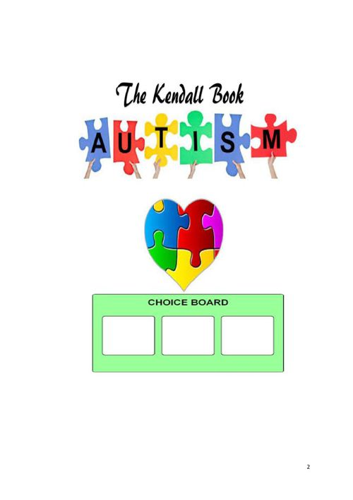 The Kendall Autism Digital Visual Choice Board