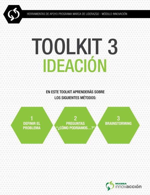 IDEACION (TOOL KIT 3)