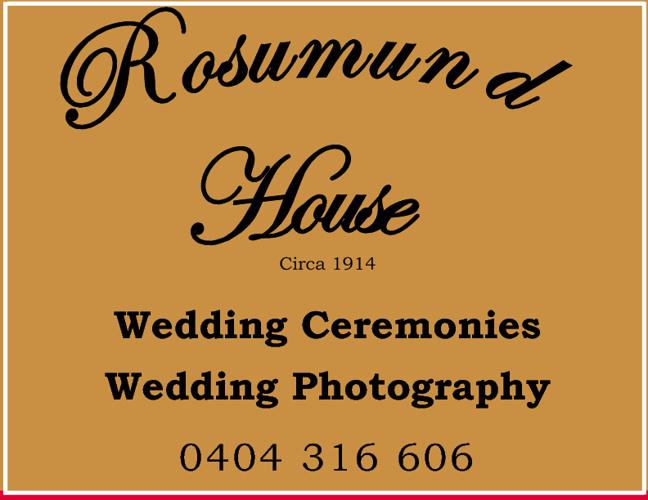 Rosamund House Wedding Gardens