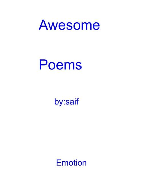 Saif's Poetry