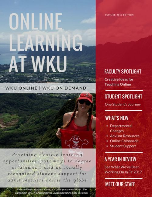 WKU Online & WKU On Demand Newsletter