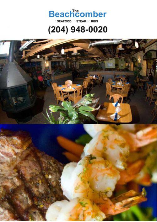 The Beachcomber Restaurant Catering-menu-March 2014