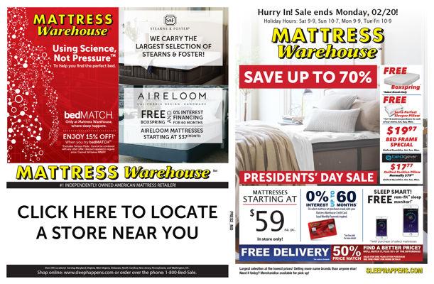 mattress warehouse day sale week 2
