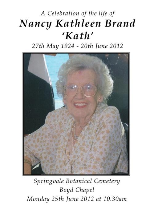 Kath Brand