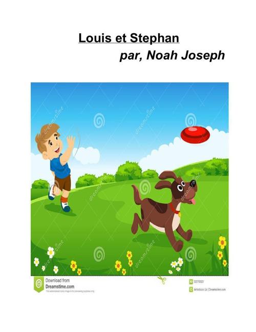 Louis et Stephan by, Noah Joseph