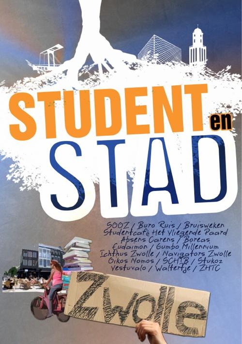 Boekje studentenverenigingen Zwolle