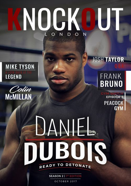KnockOut London Magazine 13 - Daniel Dubois