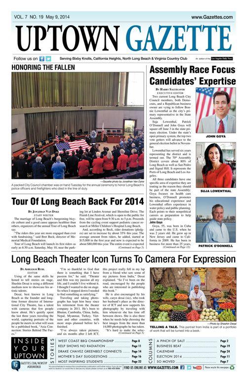 Uptown Gazette     May 9, 2014