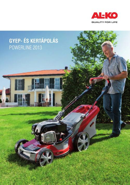 AL-KO Powerline  Gyep- és kertápolás katalógus 2013 - Kertigép Á