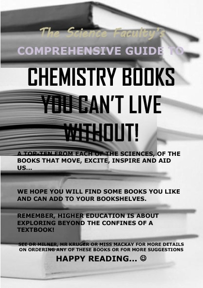 Chemistry Recommended Reading Books