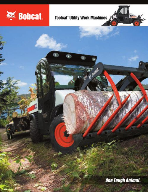 Bobcat Toolcat Utility Work Machine Brochure