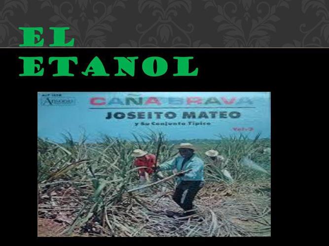 el etanol