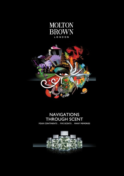 Molton Brown Launches Navigations Through Scent Perfume