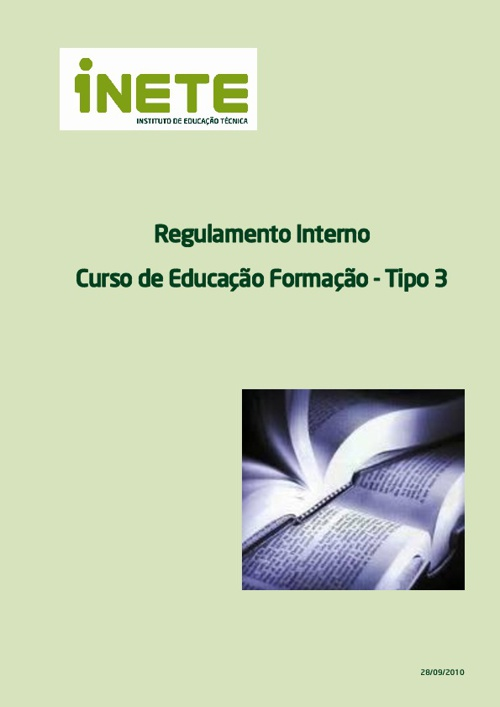 Regulamento Interno dos CEF