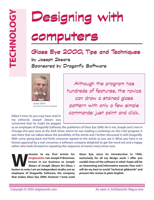 Designing with Computers