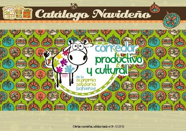 Catálogo Navideño 2012