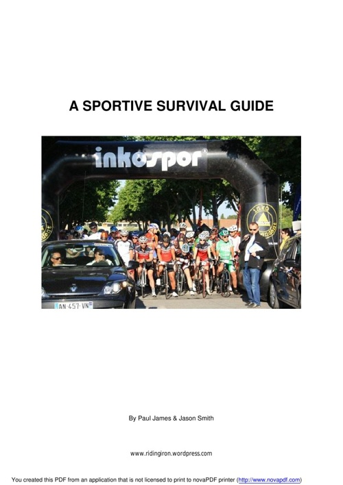 Sportive Survival Guide