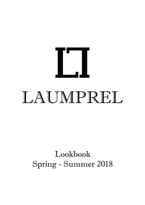 Laumprel lookbook ss18