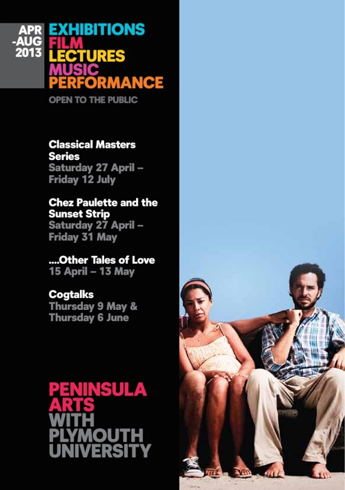 Peninsula Arts Programme April-August 2013