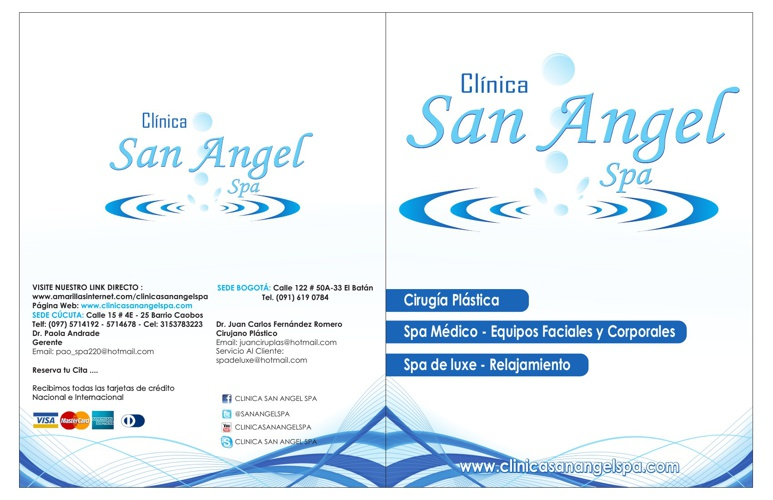 Catalogo Clinica San Angel Spa