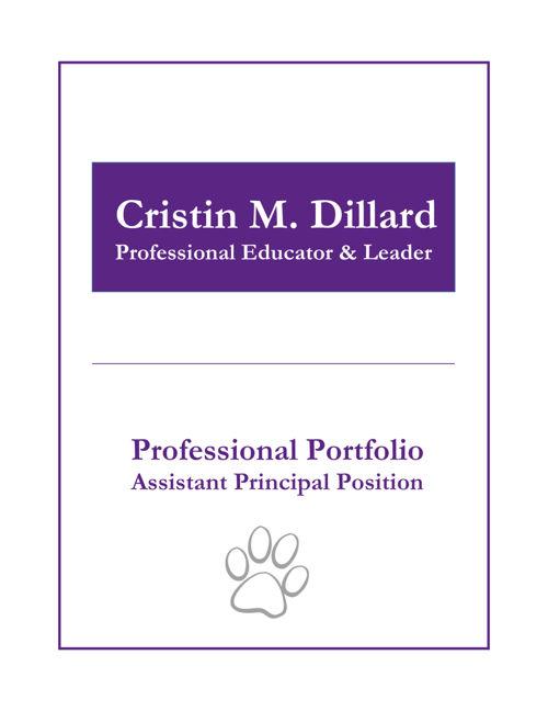 Pike County Elementary School Professional Portfolio