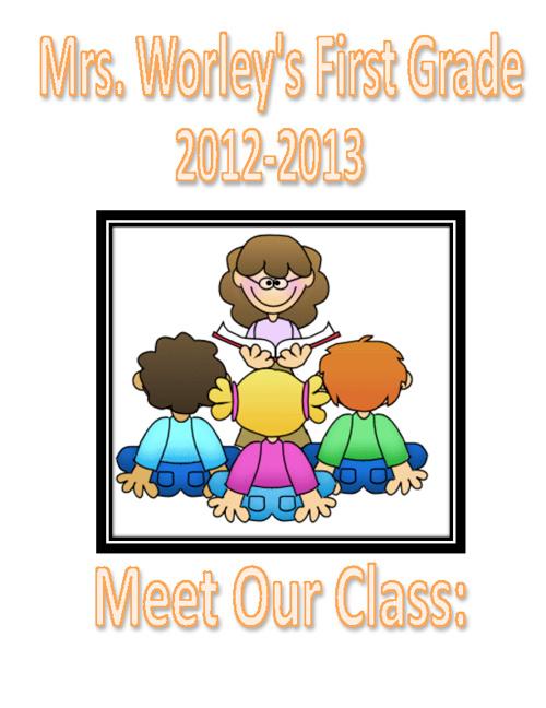First Grade Class