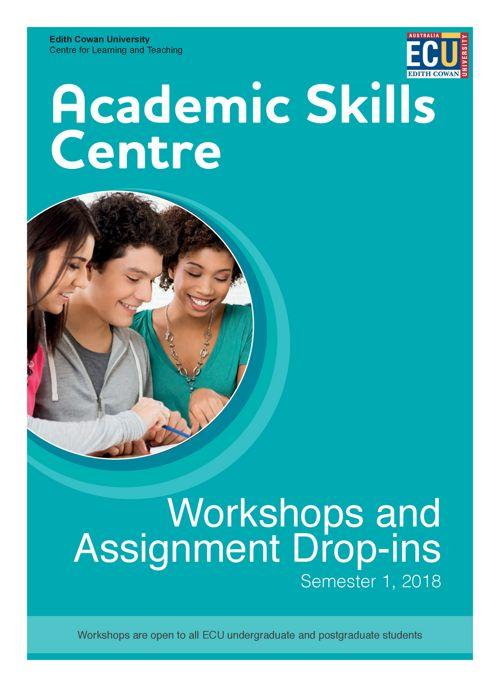 Academic Skills Centre Workshop and Drop-insTimetable 1_2018 FIN