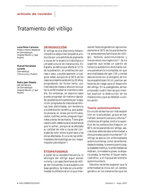 Copy of VITILIGO ARTICULO
