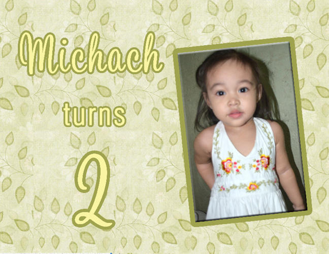 Michah turns two